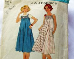 Vintage 1970s Sewing Pattern Simplicity 7962 by Old2NewMemories, $6.50