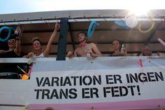 LGBT Danmark, T-gruppen, Copenhagen Pride Parade 2012. Foto: Nadine Lensborn