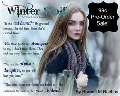 Winter Wolf (A New Dawn Novel, #1) by Rachel M. Raithby Pre-Release Blitz   @Rach1986UK