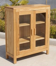 Image For Low Bookcase With Doors