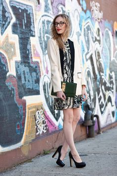 11 Ways to Wear a Blazer, From Our Favorite Fashion Bloggers: Fashion: glamour.com