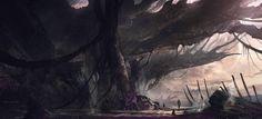 ArtStation - Alien world #3, Juan Pablo Roldan