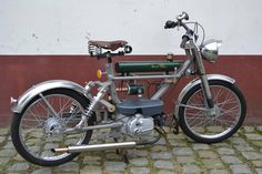 Honda Amigo Custom Motor Bike | From a unique collection of antique and modern more antique and vintage finds at https://www.1stdibs.com/furniture/more-furniture-collectibles/more-antique-vintage-finds/