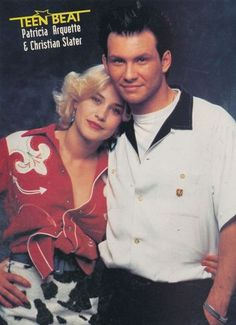 TRUE ROMANCE Mark Paul Gosselaar, Patricia Arquette, Christian Slater, Young Guns, True Romance, Film Serie, 1990s, Comebacks, Besties