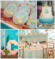 Under the Sea Party Full of Cute Ideas via Kara's Party Ideas | KarasPartyIdeas.com     Tons of party ideas on this website