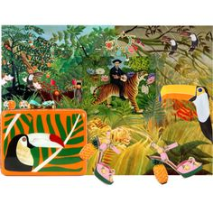 Last night I had the strangest dream *** and it all started with the toucan clutch