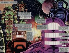 What is the official history of the Marvel Universe? Types Of Science, Galactus Marvel, Molecule Man, Muse, Edge Of The Universe, Halo Series, Star Ocean, A Certain Magical Index, Alien Races