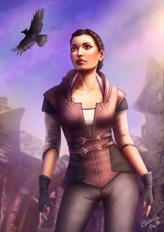 Dreamfall - Zoe by Emeraldus on DeviantArt The Longest Journey, Fantasy Characters, Fictional Characters, Ragnar, Character Art, Concept Art, Wonder Woman, Cosplay, Fan Art