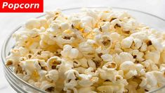 Who says snacks can't be both nutritious and delicious? Here are some of the best healthy snacks to store in your dorm room as you tackle your challenging year ahead! Homemade Popcorn, Popcorn Recipes, Snack Recipes, Cooking Recipes, Healthy Recipes, Healthy Meals, Yummy Recipes, Diet Recipes, Yummy Food