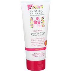 Andalou Naturals Body Butter - 1000 Roses - 8 oz Andalou ...