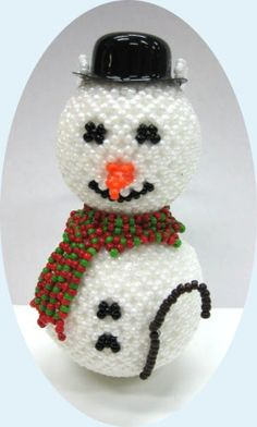 beaded+christmas+ornaments+free+patterns   Free Beaded Christmas Ornaments Patterns, Free Beaded Ornament