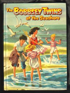 """The Bobbsey Twins Series by Laura Lee Hope ~ Another favorite from my childhood. At the Seashore"""" has particular memories. My Childhood Memories, Sweet Memories, As Nancy, My Books, Good Books, Teen Books, Library Books, Photo Vintage, Baby Boomer"""