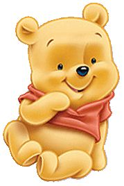 baby pooh clipart winnie the pooh baby shower invitations 179x268