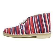 Clarks Desert Boots by Southsea Deckchairs Explode with Colors #shoes #footwear trendhunter.com