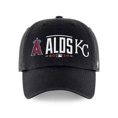 Kansas City Royals Anaheim Angels 47 Brand 2014 Postseason ALDS Adjust Hat Cap