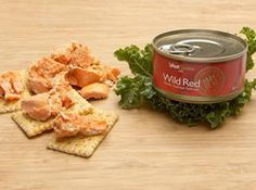 Picture of Wild Skinless Boneless Canned Alaskan Wild Red Salmon - 6 oz. Tinned Salmon Recipes, Great Recipes, Favorite Recipes, Recipe Ideas, Fish Dishes, Seafood Dishes, Healthy Recipes For Weight Loss, Fish And Seafood, Seafood Recipes