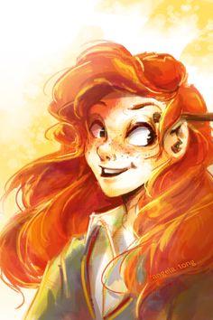 Ginny Weasley by Dreamsoffools.deviantart.com on @deviantART