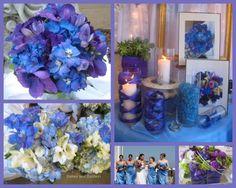 Resultado de imagem para inspirações azul com lilas de casamento