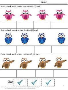 FREE: FREE Owls Cut and Paste Sampler-With this Sampler you will receive three (3) worksheets from my Owls Math and Literacy Cut and Paste Worksheet product. The Full Version of my Owls Math and Literacy Cut and Paste Worksheet product contains 24 pages.