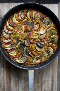 The most amazing ratatouille ever! Worthy of a special occasion or just because you want to eat delicious AND healthy!