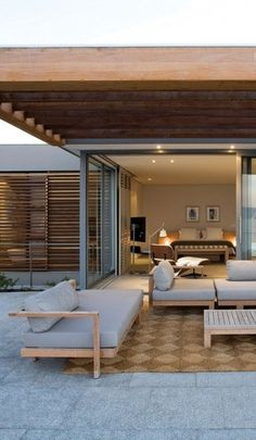 Architecture Beast: Terrace design which defines an amazing modern home | #modern #architecture #contemporary #house #home #beautiful #design #decor #terrace #furniture