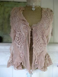 beautiful sweater love the textures