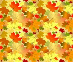 Falling for Autumn fabric by implexity on Spoonflower - custom fabric