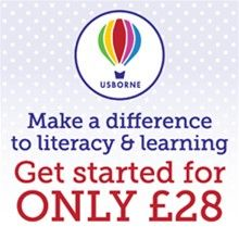 SORRY! OFFER ENDED Join Usborne Books at Home for just £28 and we'll donate £10 to School Aid! http://org.usbornebooksathome.co.uk/bookskidslove-co-uk/join-my-team/what-does-it-involve.aspx