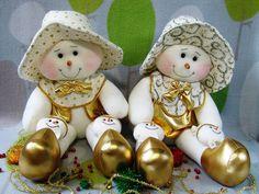 bellos muñecos de nieve