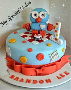 My Special Cakes 2nd Birthday Parties, Birthday Cake, Novelty Cakes, Party Themes, Party Ideas, Creative Cakes, First Birthdays, Cartoon Cakes