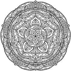 Krita Mandala 18 by WelshPixie (print image)