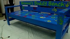 A number of schools in our area already have 'buddy benches' and now Hintgen Elementary has one as well.