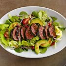 Try the Beef Tenderloin Salad with Tomatoes and Avocado Recipe on williams-sonoma.com/