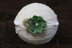Newborn tieback headbandAdult tieback by DESERTROSECOUTURE on Etsy