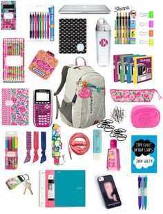I want it all!!! I have the calculator but it's black, booooo!
