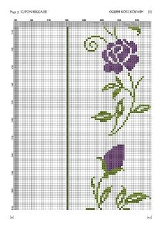 Cross Stitch Borders, C2c, Pixel Art, Filet Crochet, Diy And Crafts, Embroidery, Wallpaper, Pattern, Cross Stitch Flowers