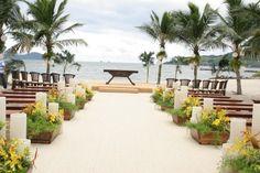 Realizando sonhos: Casamento na praia. Onde casar