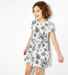 ZARA - KINDEREN - Plooi-jurk met bloem - Lentefeest Ruben