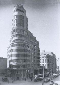 ¿Sabías que el Edificio Carrión (o Capitol) fue el primero de Madrid en tener aire acondicionado?