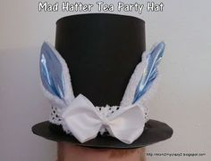 Mad Hatter Tea Party - Hat (made from the dollar store)