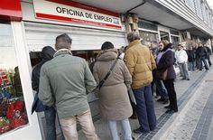 La crisis multiplica por cinco el paro de larga duración