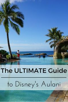 EVERYTHING you NEED to know about Disney's Aulani Resort & Spa located in Oahu, Hawaii. This ULTIMATE Guide will show you how to SAVE on booking your stay, the best things to do and best places to eat, + tricks to make your stay EPIC. Plus, you won't want to miss the complete photo tour!!! Click to get started... #Aulani #Disney #DisneyVacationClub #AulaniResort #DisneyAulani