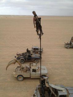Mad Max Fury Road - on the set