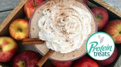 This episode is a special edition just for Thor! He loves Nutralean and Apple Pie, so we wanted to make him a sinfully delicious shake that he can enjoy whenever he wants. Protein Treats uses Nutracelle Protein Powder with Prebiotic Fiber because it's ideal for baking! Apple Pie Protein Shake INGREDIENTS: 1/2 Cup | Cottage …