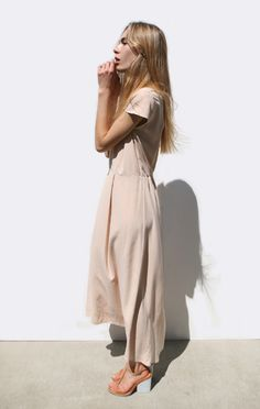 Anaïse | Jesse Kamm Capsleeve Dress