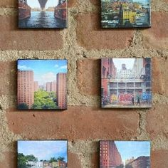 These DIY Canvas Mounted Instagram Photos take minutes to create and make the perfect gift!