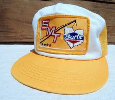 22348ff3d7d True-Vintage-Snapback-Trucker-Hat-NOS-Mesh-Cap -Berts-Towing-One-Size-Adjustable