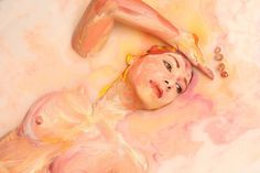 Alexa Meade milk paintings