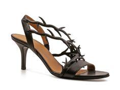 Womens Leather High Heel #Sandals #Shoes www.fashionbug.us