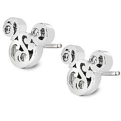 Mickey Mouse Filigree Icon Earrings by Arribas Brothers | Disney Store The intricate filigree design of these Mickey Mouse icon earrings are accented with tiny Swarovski crystals for added sparkle. Crafted in silver by the renowned Arribas Brothers, they come in an elegant gift box.